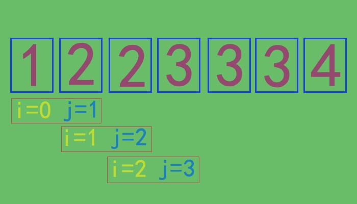 如何删除有序顺序表中所有重复的元素