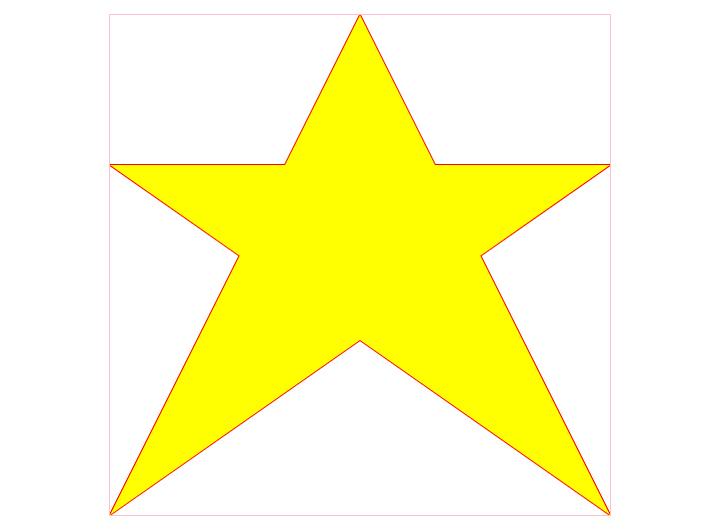 HTML5 Canvas绘制五角星-一点网